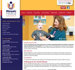 medical bend oregon wordpress website development