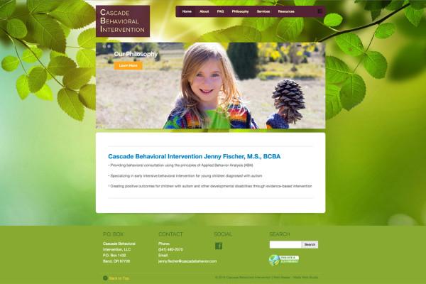 behavioral intervention website developers