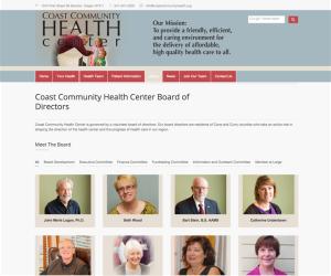 oregon health center web developer