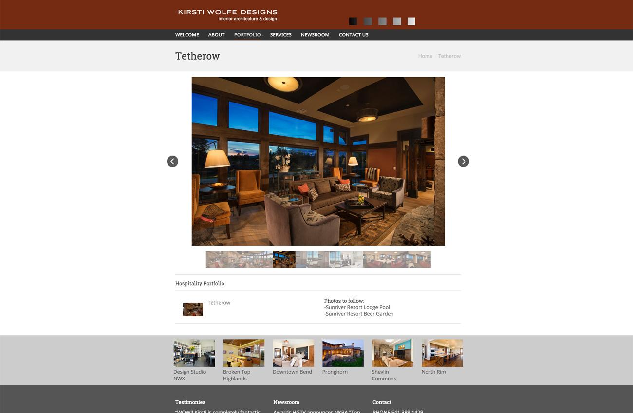 Interior Designs WordPress Responsive Web Design