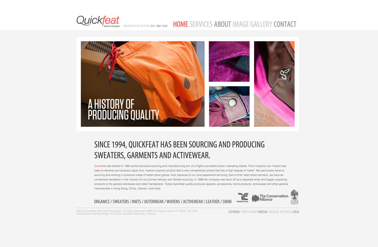 Garment Production Website Developer San Diego California