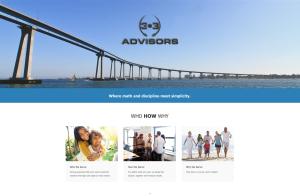 303 Advisors Encinitas California WordPress Website Developer