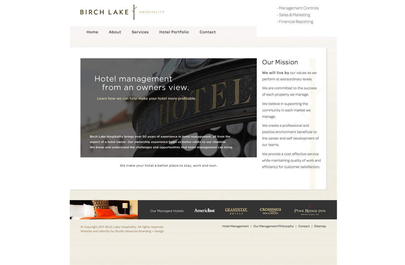 Hospitality Website Development