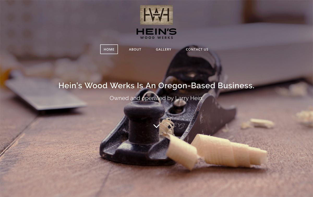 Furniture WordPress Design Central Oregon