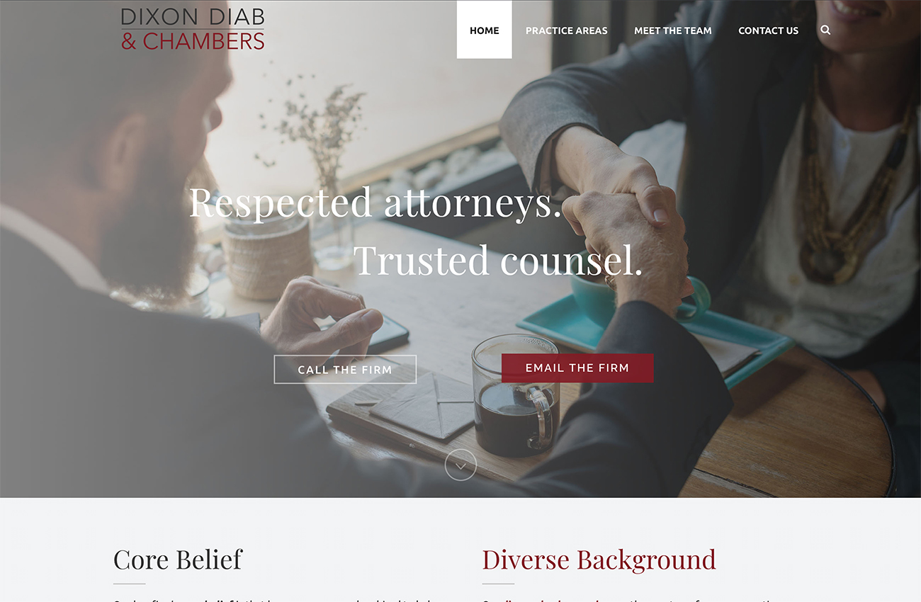 Lawyer Website Developer San Diego