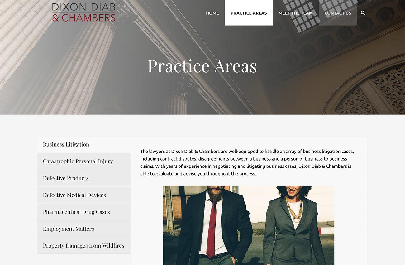 Lawyer Website Development San Diego