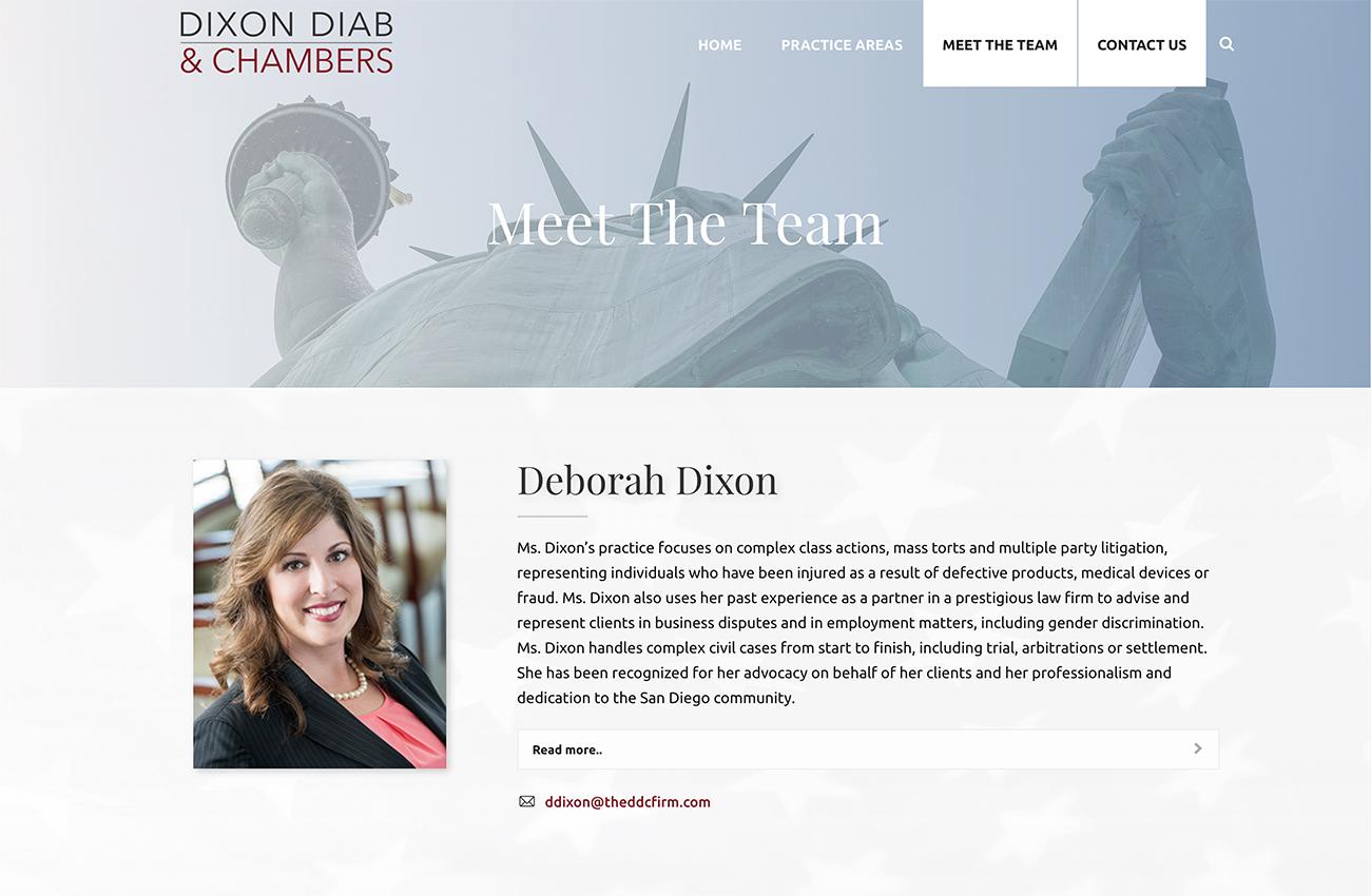 Law Website Development San Diego