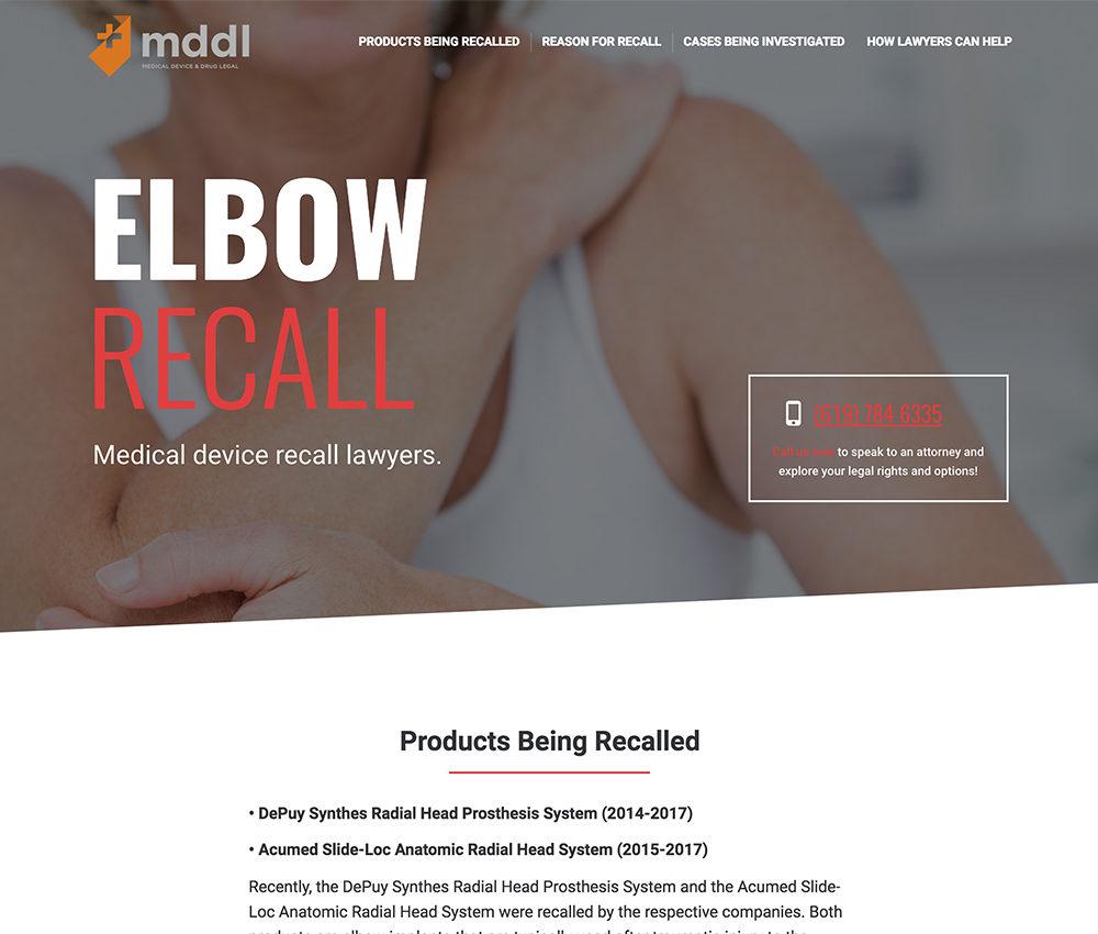 Elbow Recall