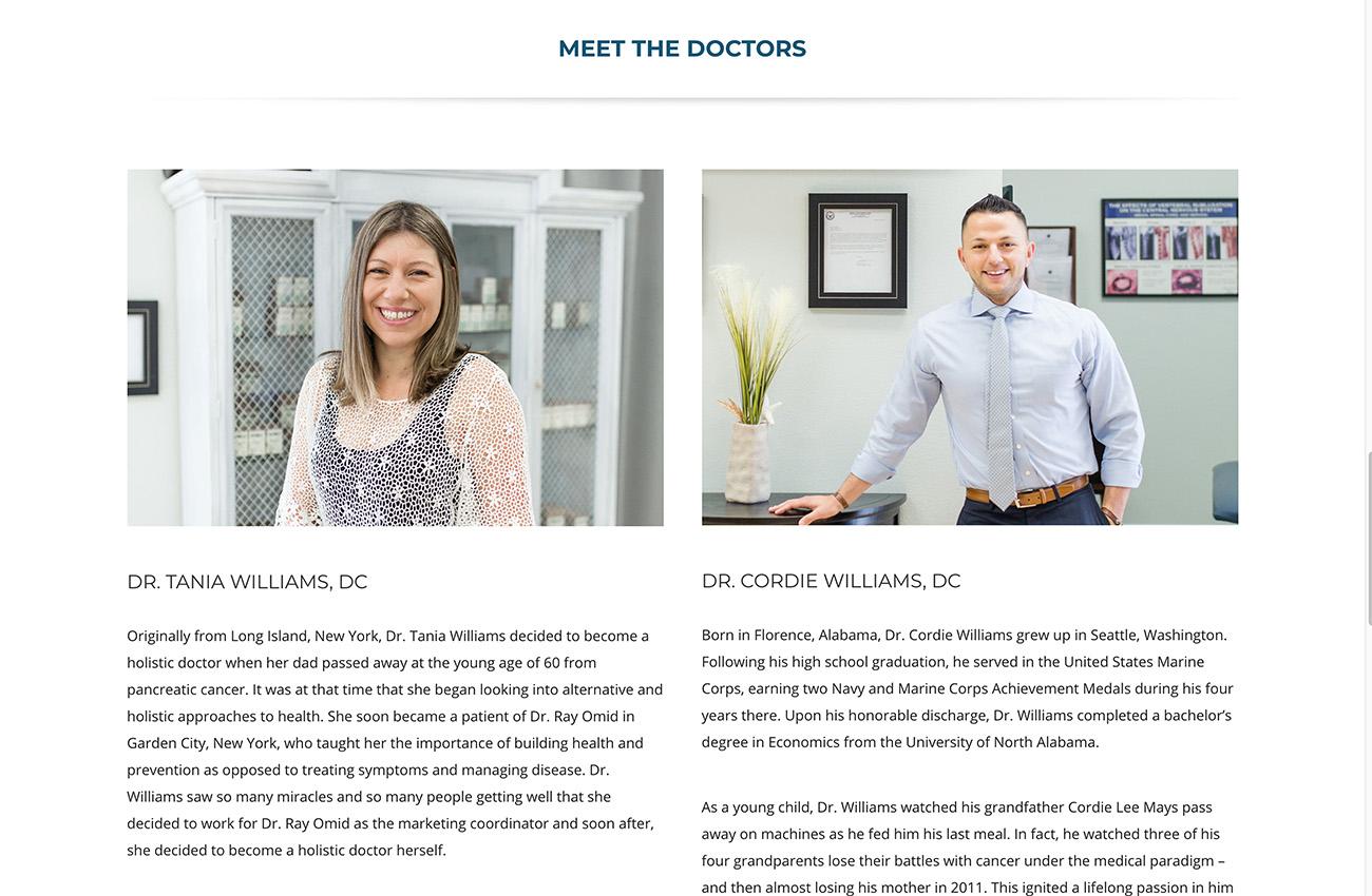 chiropractic website designer carlsbad