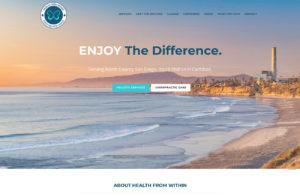 chiropractic website design carlsbad ca