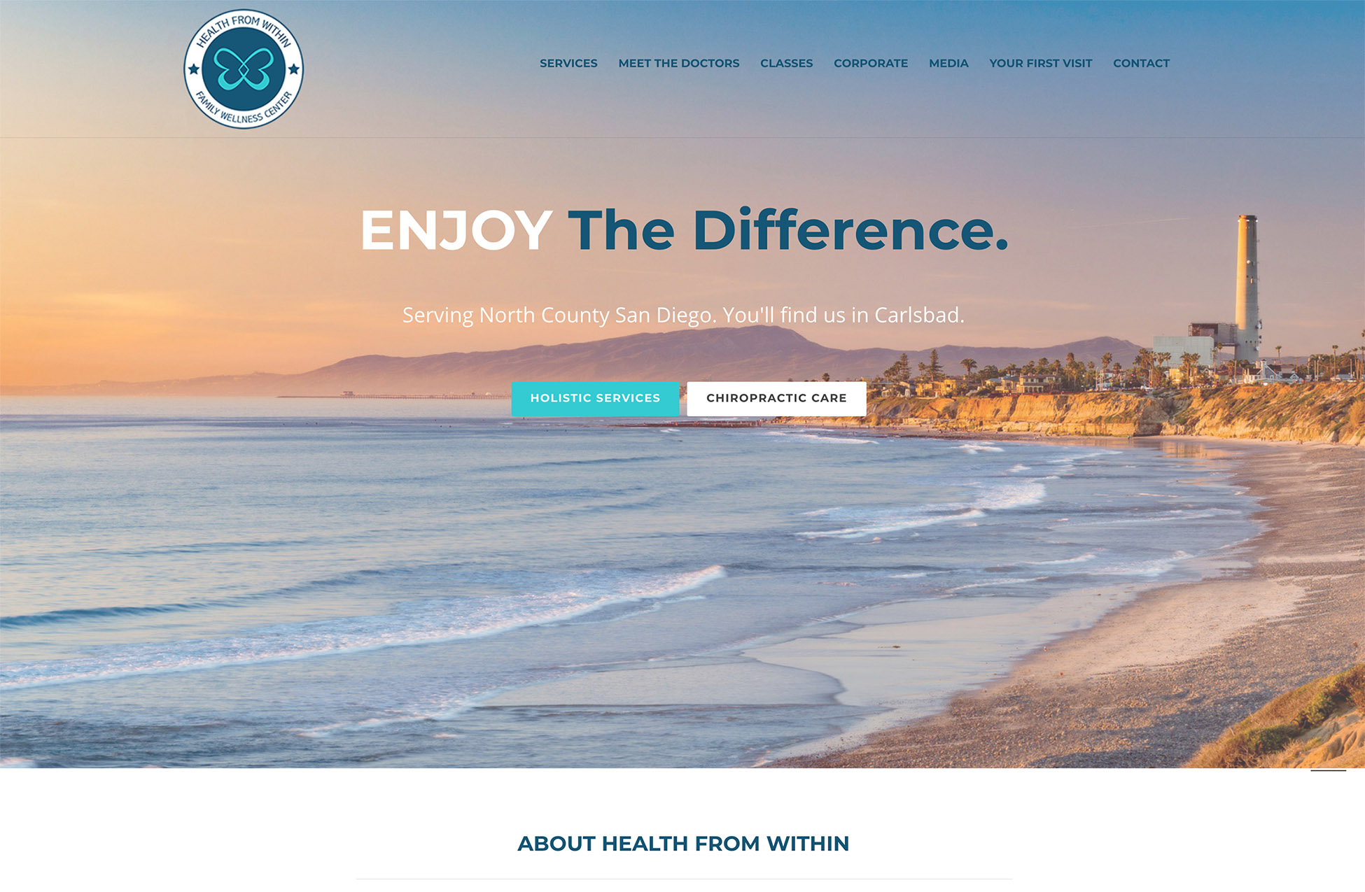 chiropractic website design carlsbad ca