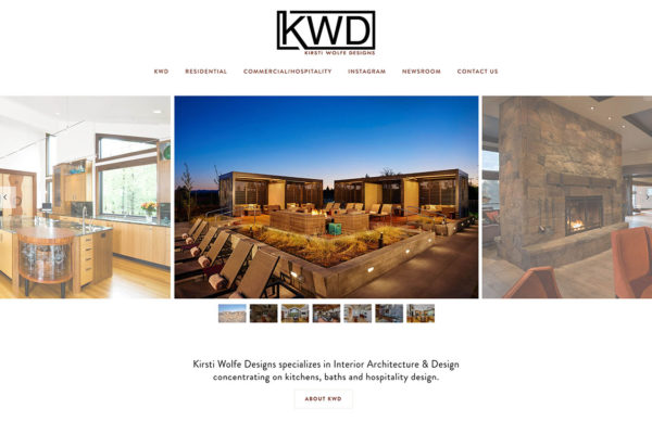 bend oregon wordpress website designer