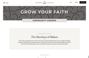 Church Website Developer North Park, San Diego