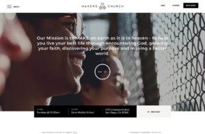 Church Non Profit Website Developer San Diego
