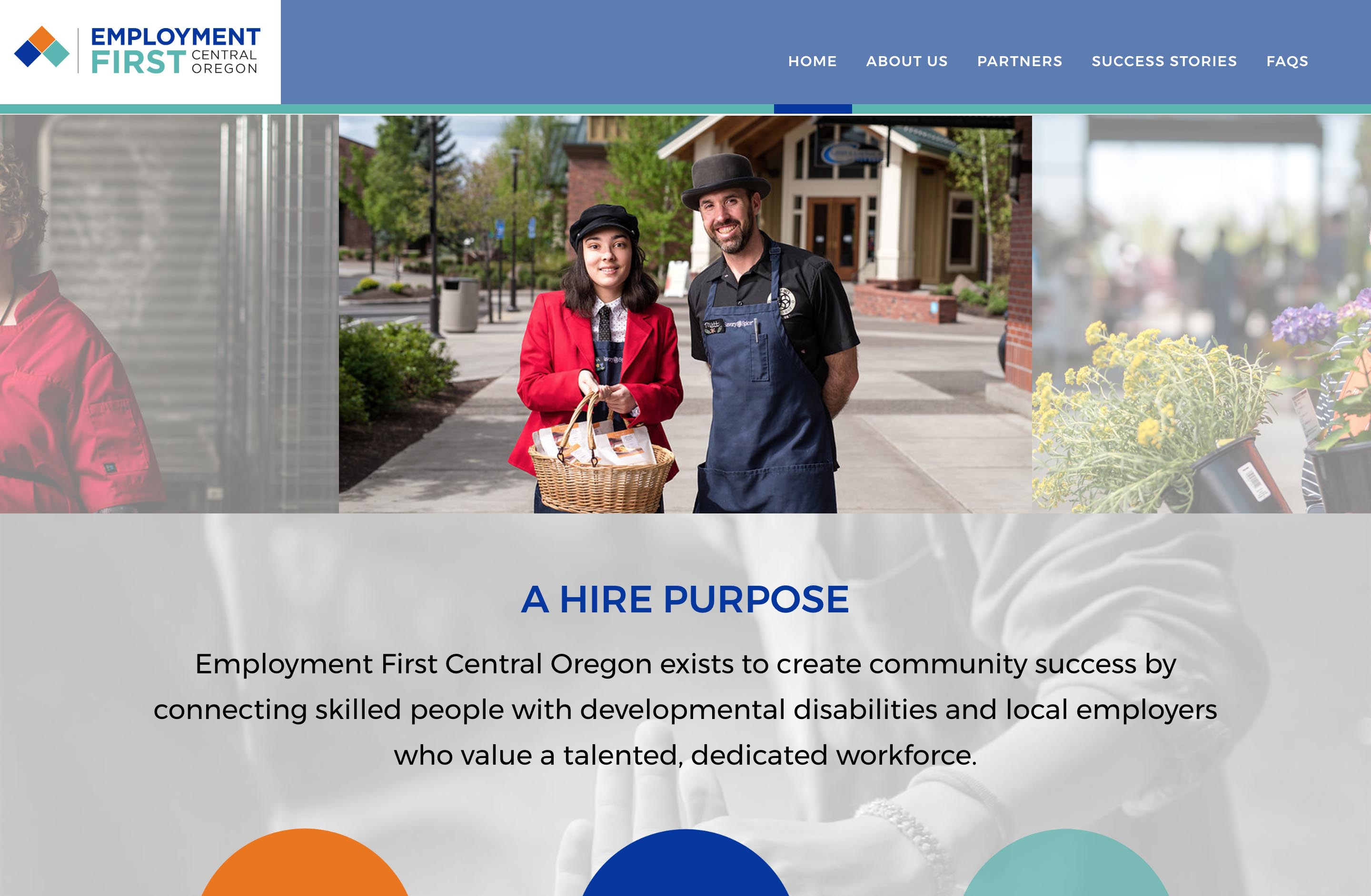 Non Profit Wordpress Web Developer Central Oregon