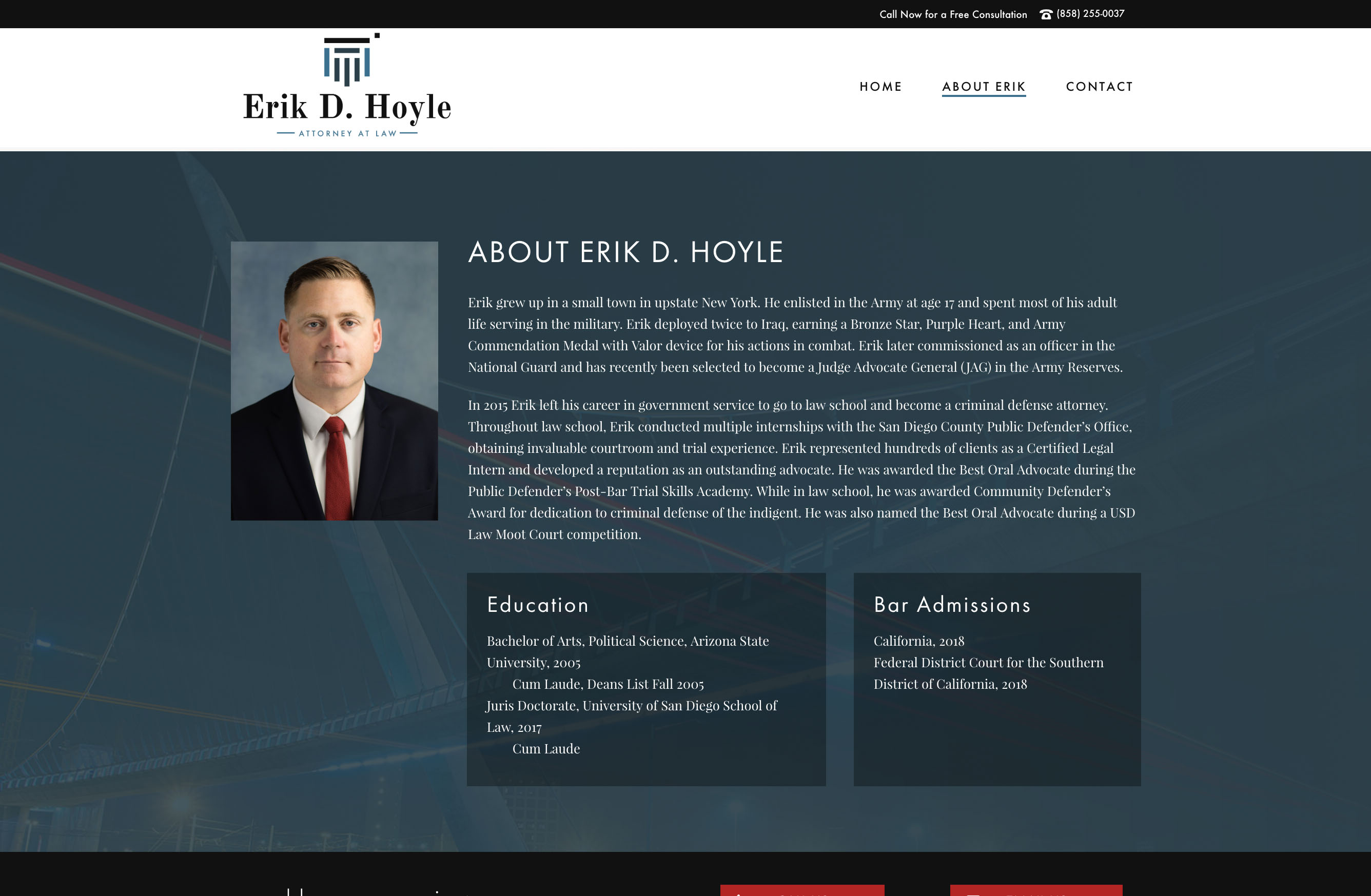attorney website developer