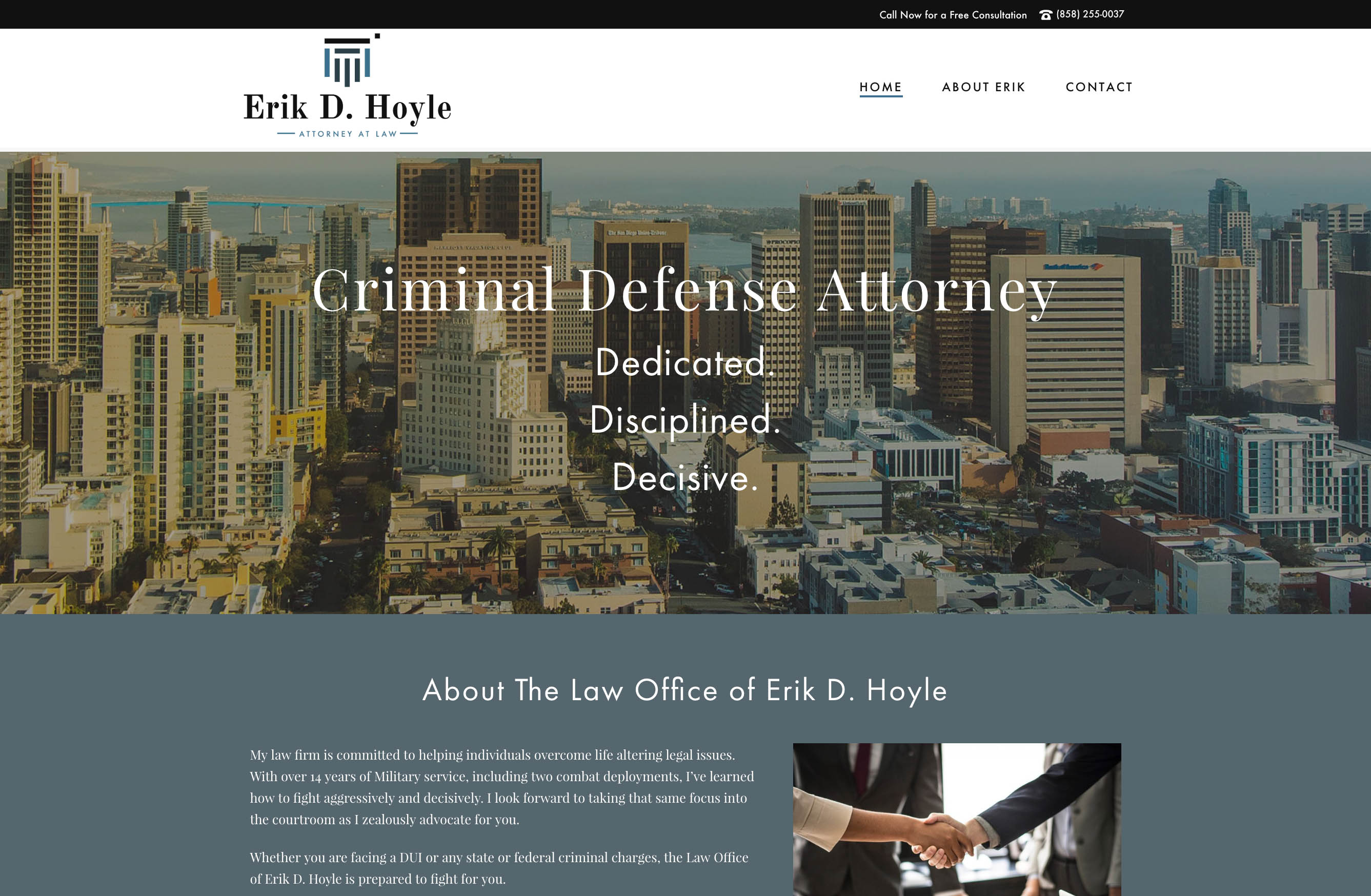 law firm website design san diego