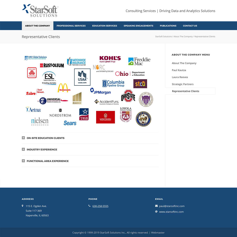 Data Analytics WordPress Website Design Bend Oregon