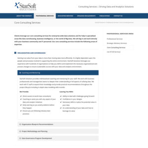 Data Analytics Website Developer Bend Oregon