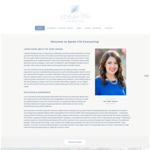 Counseling WordPress Website Developer Bend Oregon