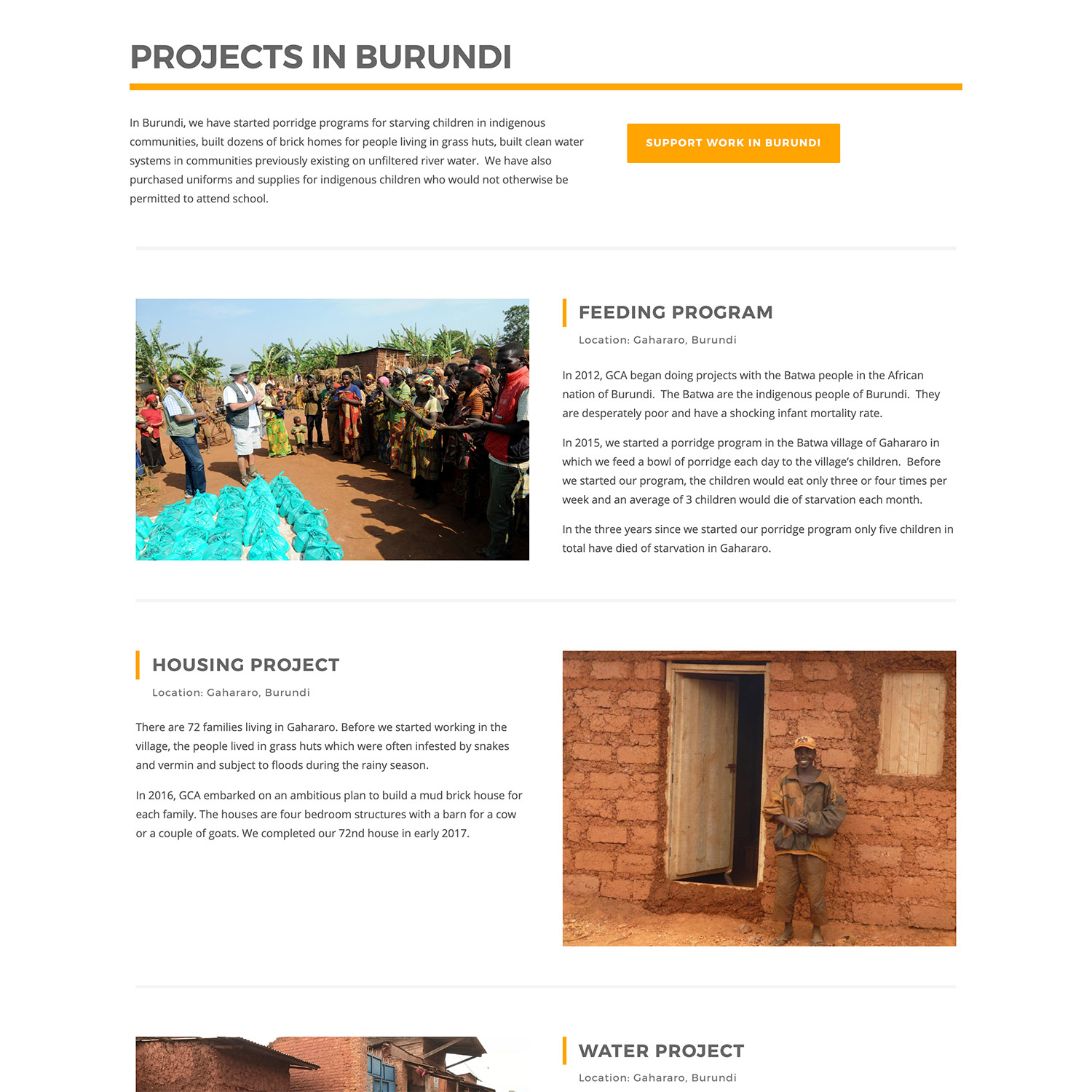 Bend Non Profit WordPress Designer