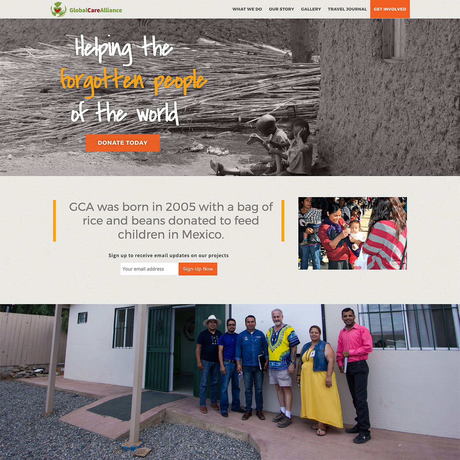 Non Profit WordPress Design
