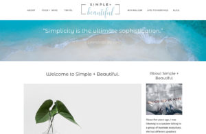 WordPress Design Lifestyle Blog Bend Oregon