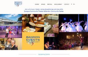events e-commerce wordpress website development