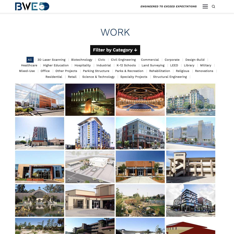 civil engineering san deigo wordpress developer