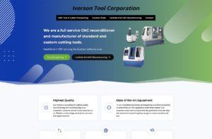 Tool Cutting WordPress Website Designer San Diego